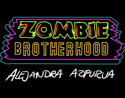 Zombie Brotherhood - motion graphics (personal work)