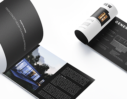 Brochure and Leaflet Design for Forta PRO Company