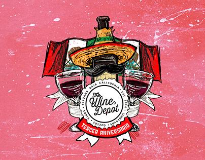 Tercer Aniversario The Wine Depot