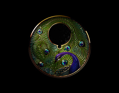 Rendering of the dial