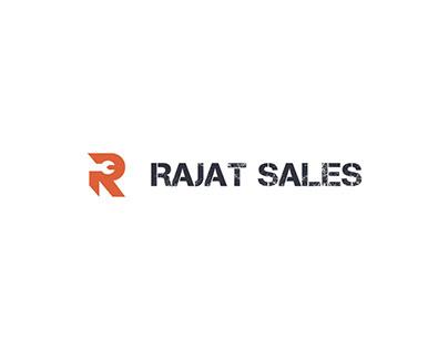 Rajat Sales Logo Design