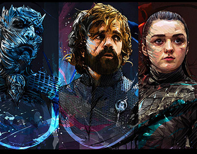 GAME OF THRONES- Portraits.