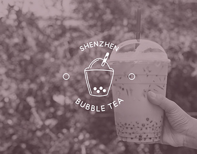 Logo Challenge #8 Shenzen Bubble Tea