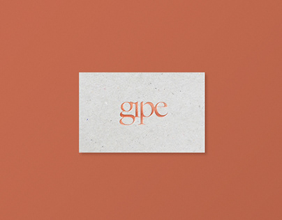 Gipe Photography / Rebrand