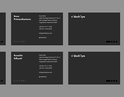 Videshiiya Branding | Architect Studio