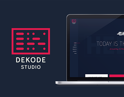 Dekode Studio Branding and Website