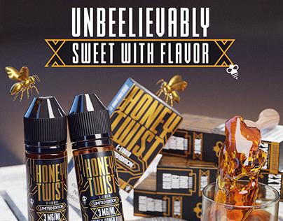 Honey Twist | Unbeelivably Sweet with Flavor