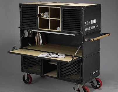 Nomadic work room #1