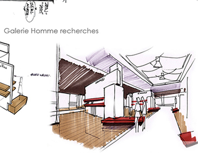 GALLERIE LAFAYETTE space development