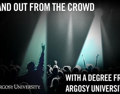 Argosy University Concert Ad