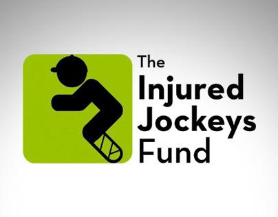 The Injured Jockeys Fund Identity.
