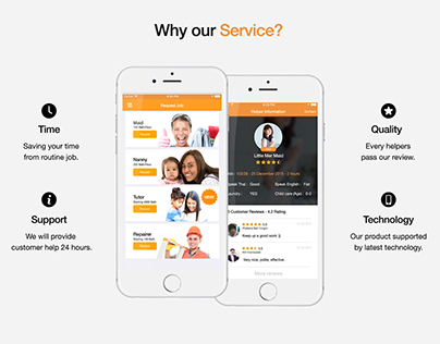 App & Web UI Design by Chanut-is
