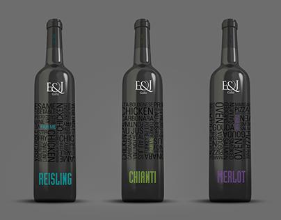 Earnest & Gallo Wine Bottles
