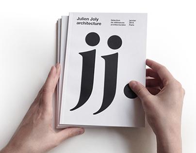 EDITORIAL DESIGN pour / for Julien Joly Architecture