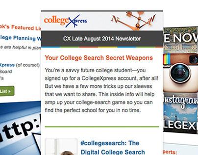 CollegeXpress Newsletters
