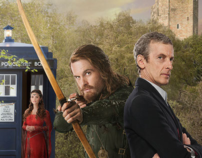 """Doctor Who - Series 8 """"Robot of Sherwood"""""""