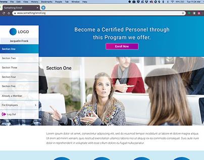 Create Account Demo - Web Responsive