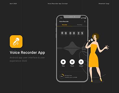 Voice Recorder Mobile App