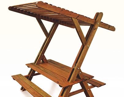 Lambda Table and Bench