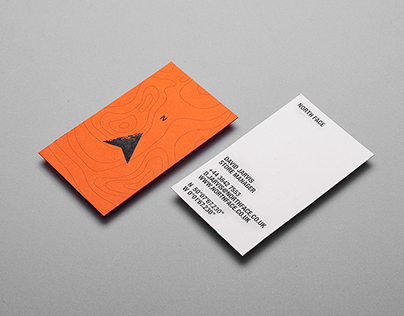 North Face Visual Identity