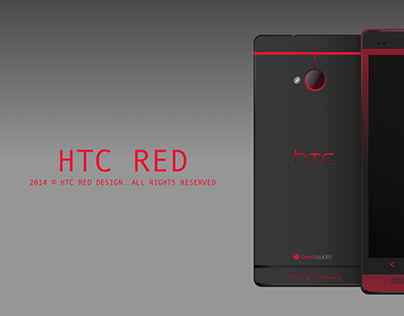 HTC RED DESIGN.