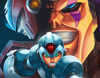 Megaman Dawn of X Fant Art Contest 1st Place