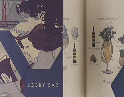 Lobby Bar Branding