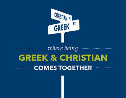 Greek InterVarsity Booklet Brochure