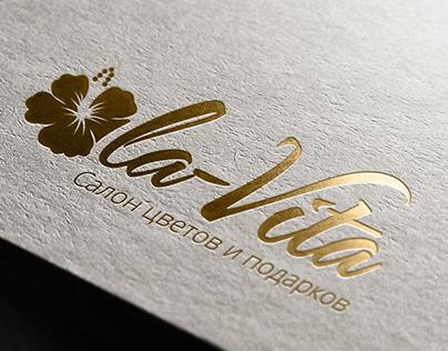 "Логотип и дизайн сайта салона цветов ""La Vita Flowers"""