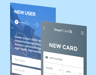 Smart Card Visa GUI Design