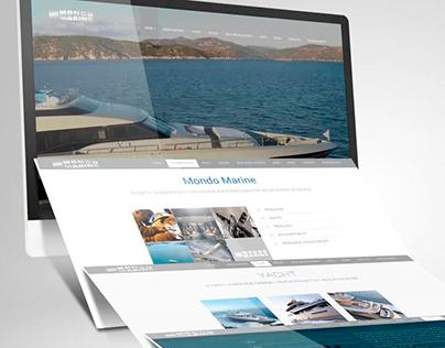 Mondo Marine website