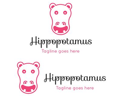 Hippopotamus - GraphicRiver Logo Template