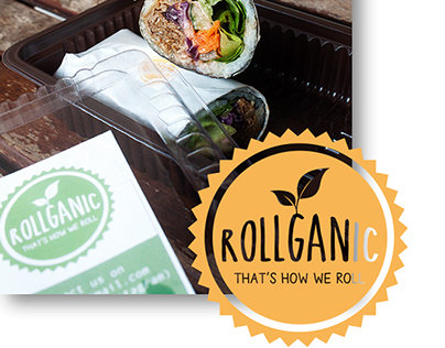 Rollganic - Freshly Handrolled Organic Rice Vegetables