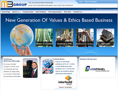 MB Group Web Site
