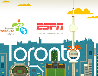 2015 Pan American Games - Broadcast Design Concepts