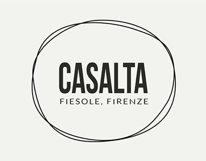 Olio Casalta - brand and bottle label