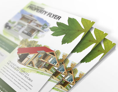 Nature Inspired Property Flyer