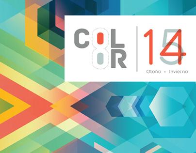 CARTA DE COLOR INEXMODA OTOÑO / INVIERNO 2014 - 2015
