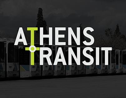 Athens Transit App - Logo & UI/UX