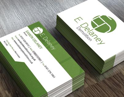 E. Delaney Demolition - Company Re-Brand