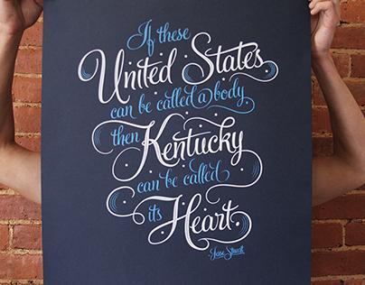 Kentucky for Kentucky Jesse stuart Prints