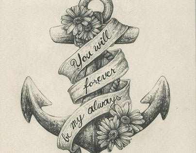 Anchor Tattoo Commission