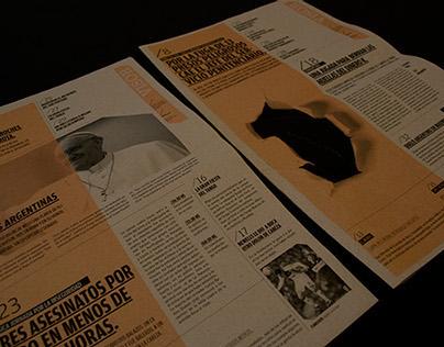 Diseño de Tapa de Diario