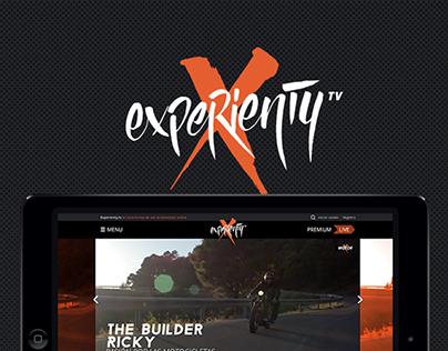 Experienty TV website