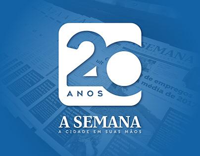 20 Anos - Jornal A Semana