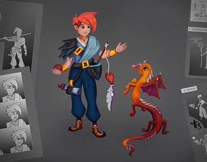 Concept Art of Dragon Tamer