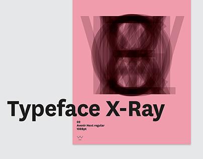 Typeface X-Ray