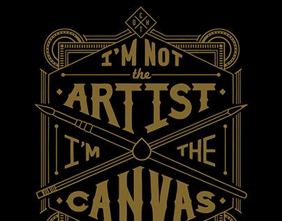 I'm Not The Artist - T-shirt Design