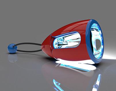 Camping Flashlight Design