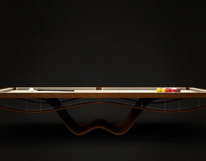 Concept Billiards Table